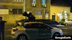 Google Street View in Belgrade