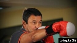 Серик Конакбаев на Олимпийских играх 1980 года в Москве стал обладателем серебряной награды. Архивное фото.