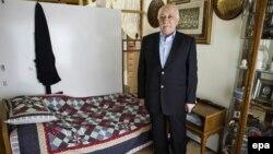Исламистичкиот свештеник Фетула Ѓулен во неговиот дом во Пенсилванија.