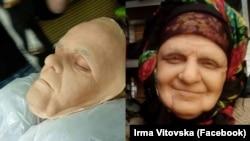Ірма Вітовська в образі баби Прісі