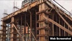 Так выглядят незаконные строения в Махачкале