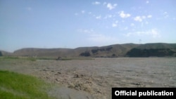Баткен. Река Сох. Фото МЧС.