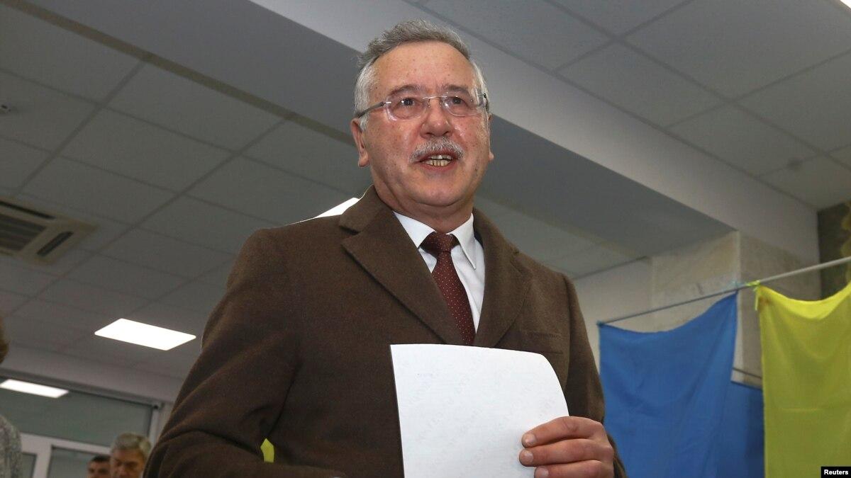Гриценко «сам не определился», или поддерживать Зеленского во втором туре