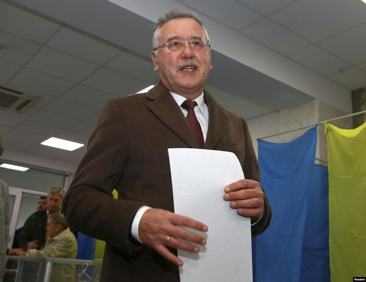 Гриценко і Саакашвілі думають, чи не об'єднатися