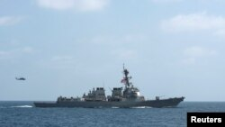 U.S. officials accuse Iran of supplying Yemeni rebels with the missiles used to attack the U.S. Navy destroyer USS Mason this week.