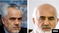حمد توکلی (راست) و محمدرضا رحیمی