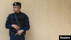 پلیس تایلند در بانکوک