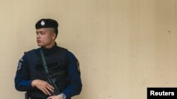 Полицейский в Бангкоке. Иллюстративное фото.