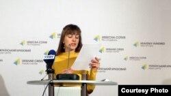 """Координатор """"Евромайдан SOS"""" Александра Матвийчук"""