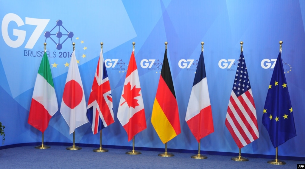 G7 Warns Of Tougher Russian Sanctions