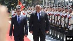 Zoran Zaev dhe Bojko Borisov