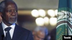 Спецпосланник ООН Кофи Аннан.