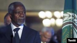 BMG-Arap Ligasynyň Siriýa boýunça wekili Kofi Annan