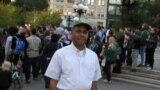 Дерой Мёрдок на площади Юнион в Нью-Йорке