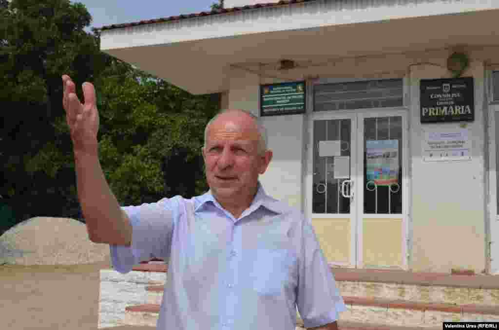Gheorghe Grigoraș, primarul comunei Ciuciuleni, r. Hâncești