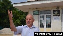 """Moldova - Bus """"AICI e Europa Liberă"""", Gheorghe Grigoraș, mayor Ciuciuleni, r. Hâncești"""
