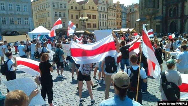 Фото - Проти репресій перед виборами: білоруси усього світу проводять акції солідарності