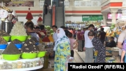 Рынки Душанбе накануне праздника Иди Курбон