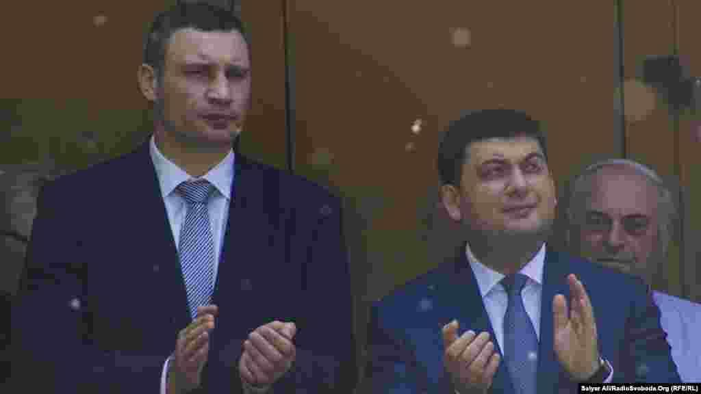 Віталій Кличко та Володимир Гройсман