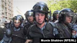Moscow was criticized for its use of force at the July 27 protests.