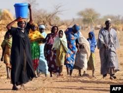 Беженцы из ЦАР в Чаде