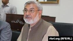 نصیر احمد درانی وزیر احیاء و انکشاف دهات افغانستان