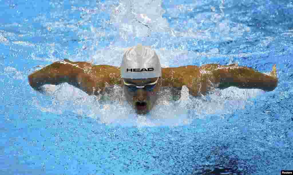 Ярослав Денисенко, золотий призерЛітніх Паралімпійських Ігор 2016 із плавання на дистанцію на 200 метрів