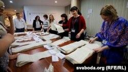 Станом на 12:00 1 квітня Центральна виборча комісія опрацювала понад 70% протоколів на виборах президента