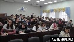"""Былтыр Уфада """"Татарча диктант"""" чарасы"""