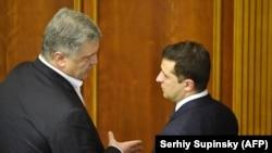 Петро Порошенко ва Владимир Зеленский