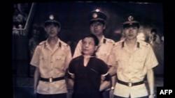 Активист демократического движения, перед казнью в Китае, 1989г.