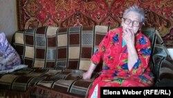 Екінші дүниежүзілік соғыс кезінде Ленинградта қоршауда болған Нина Нагребецкая. Қарағанды облысы, 4 мамыр 2018 жыл.