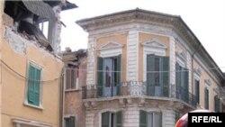 Абруццо после землетрясения 23 апреля 2009