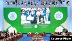 Ислам ынтымақтастығы ұйымының ғылым және технология жөніндегі саммиті. Астана, 10 қыркүйек 2017 жыл.