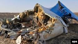 Обломки самолета А321 Когалымавиа в Синайской пустыне