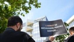 Protestul avocaților la Chișinău