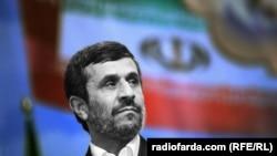 Президент Ирана Махмуд Ахмадинежад.