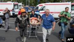 Москва. Метродогу кырсыктан кийин. 15-июль, 2014-жыл.