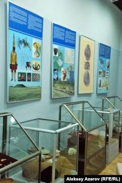 Выставка артефактов, организованная Музеем истории города Алматы. 22 мая 2014 года.