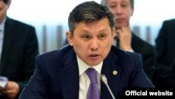 Бақыт Сұлтанов, Қазақстан қаржы министрі.