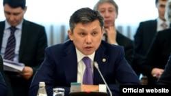 Қазақстанның сауда және интеграция министрі Бақыт Сұлтанов.
