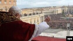 Архивска фотографија: Божиќ 2009 година во Ватикан.