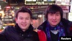 Молодые люди из Казахстана Азамат Тажаяков (слева) и Диас Кадырбаев.