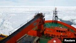 """Anija kineze """"Snow Dragon"""" në Antarktik"""