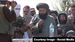Əfqanıstanda İŞİD yaraqlıları, arxiv fotosu