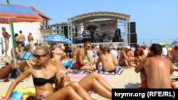 Koktebel Jazz Festival у Затоці Одеської області, 28 серпня 2015 року