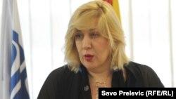 Представитель ОБСЕ по свободе СМИ Дунья Миятович (архив)