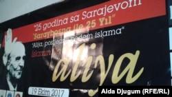 Plakat sa pres-konferencije, Sarajevo