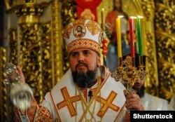 Голова ПЦУ, митрополит Київський і всієї України Епіфаній, Київ 2019 рік