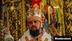 Голова Православної церкви України, митрополит Київський і всієї України Епіфаній